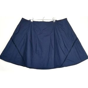 Lane Bryant skirt size 28 blue a line